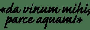 Da-vinum-mihi-schwarz